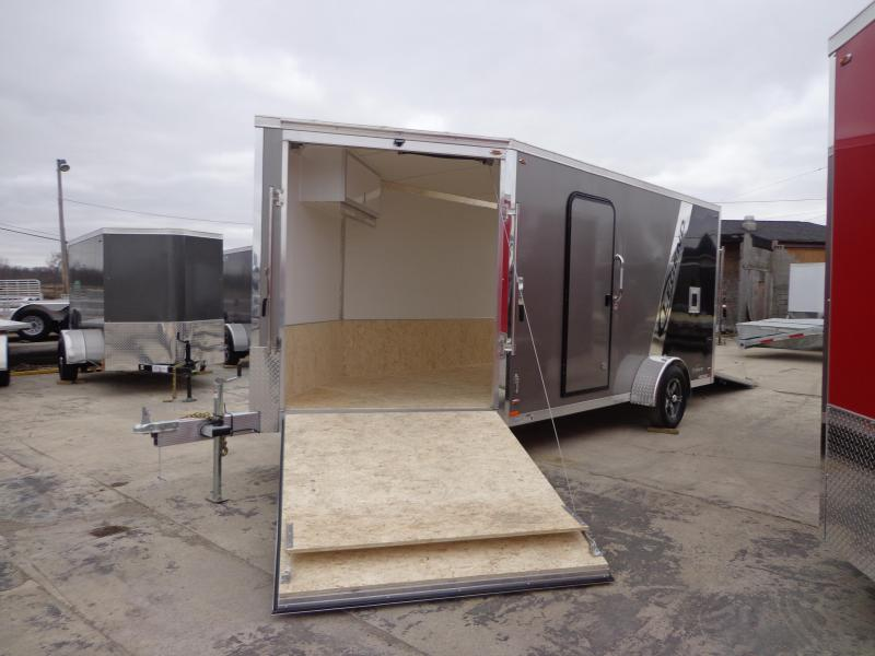 New Legend Trailers Explorer Snow/ATV 7' X 19' Enclosed Snowmobile Trailer For Sale
