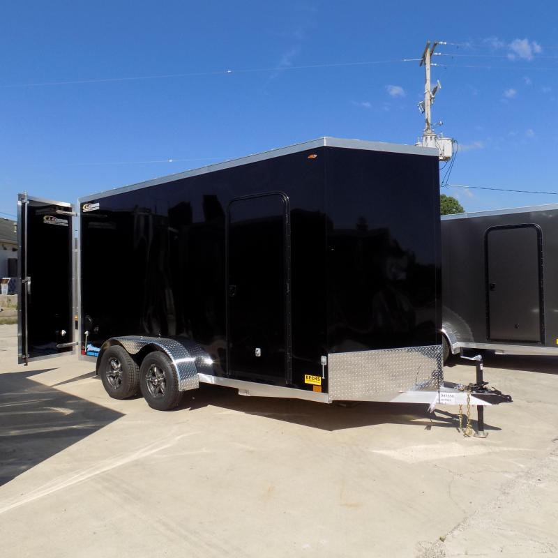 New Legend Thunder V Nose 7' X 16' Enclosed Cargo Trailer For Sale