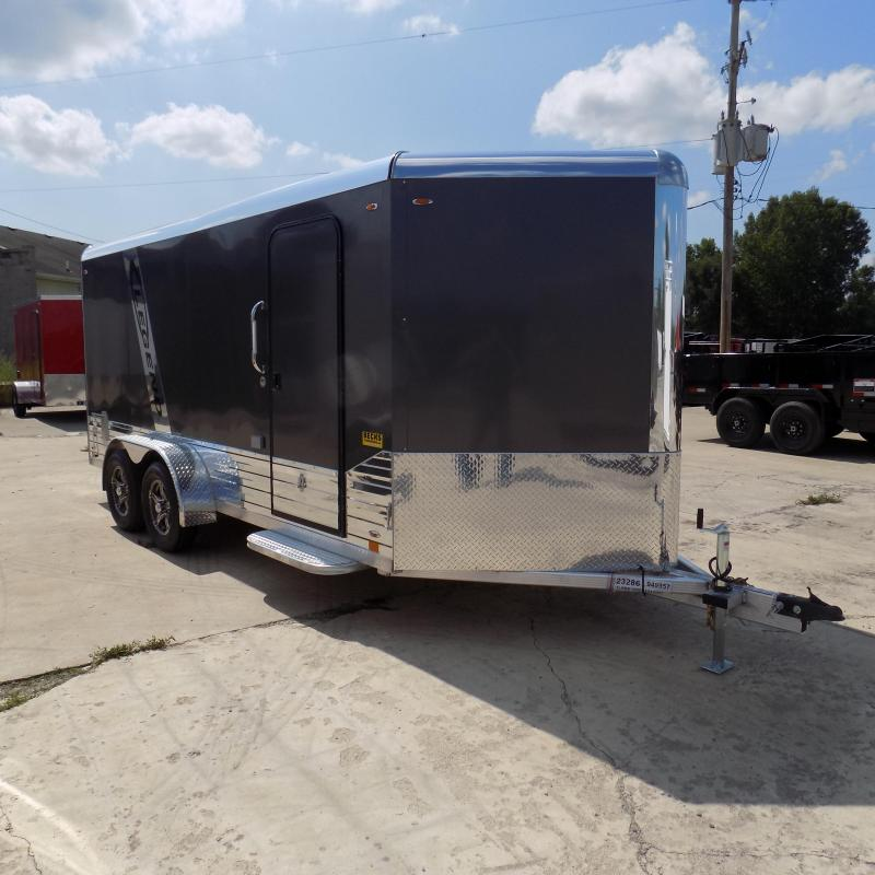 New Legend Deluxe V Nose 7' X 19' All Aluminum Enclosed Cargo Trailer For Sale