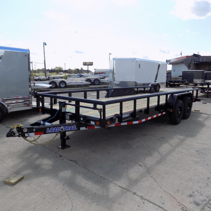 """New Load Trail 83"""" x 20' Open Car/Equipment Trailer - $0 Down & Payments From $125/mo. W.A.C."""