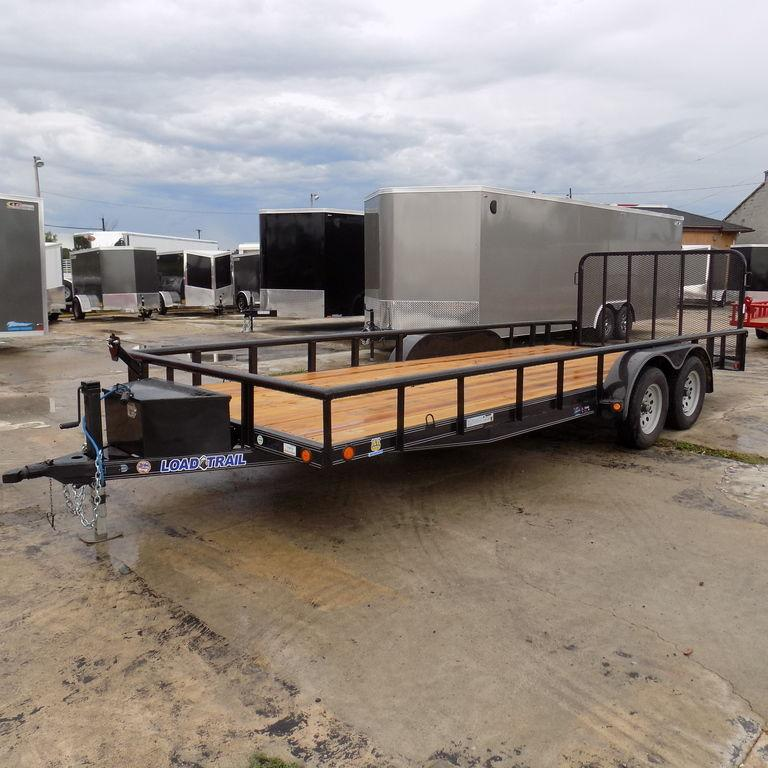 """New Load Trail UT 83"""" x 20' Open Utility Trailer for Sale"""