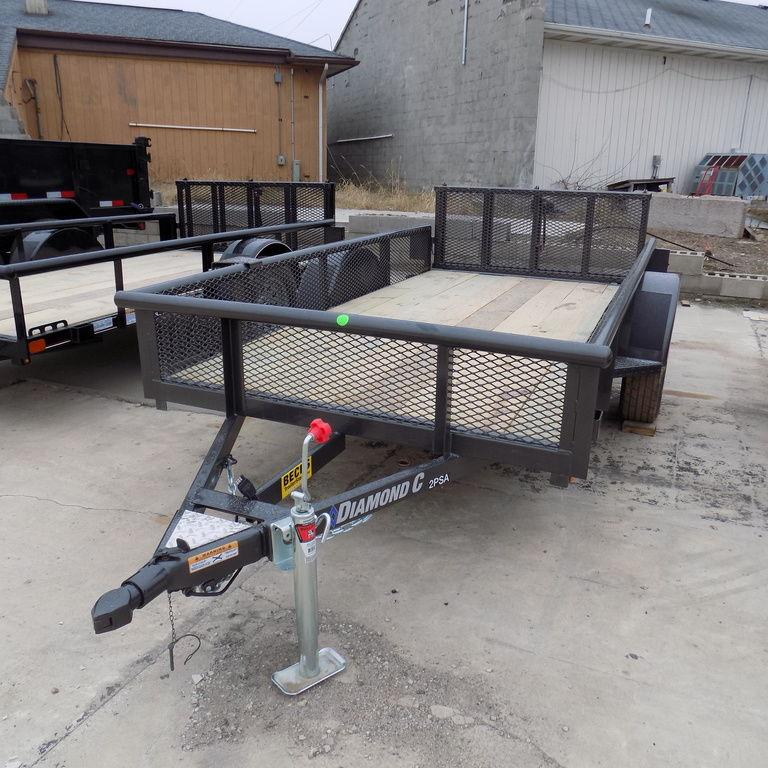 New Diamond C 5' x 10' Utility Trailer for Sale