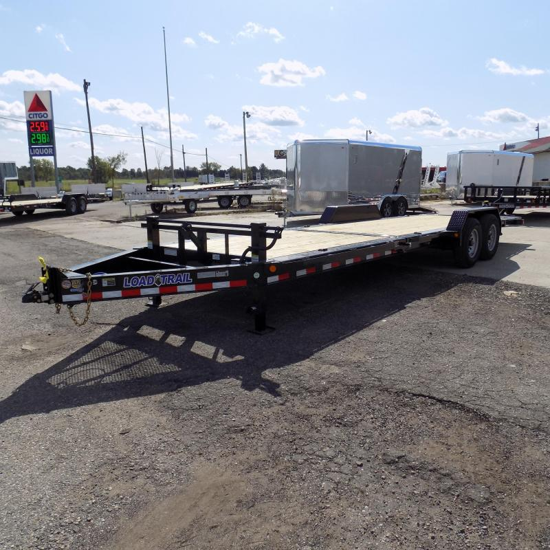 """New Load Trail TH14 83"""" x 24' Tilt Deck Trailer - Payments From $135/mo. W.A.C."""