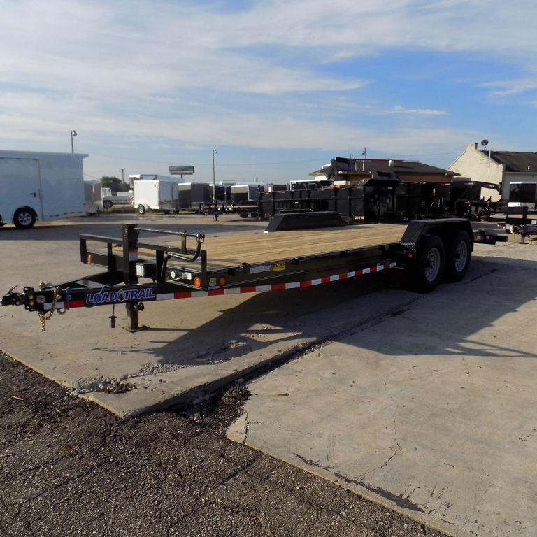 "New Load Trailer CH14 83"" x 22' Open Car Hauler / Equipment Trailer - 14K Weight Rating"