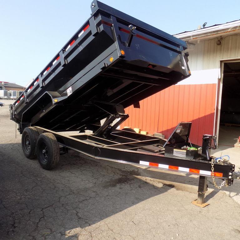 "New Load Trail 83"" x 14' Dump Trailer w/ King Sides"
