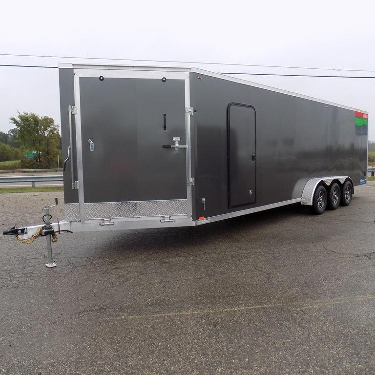 New Legend Thunder 7' x 31' Aluminum Snow / ATV Trailer For Sale