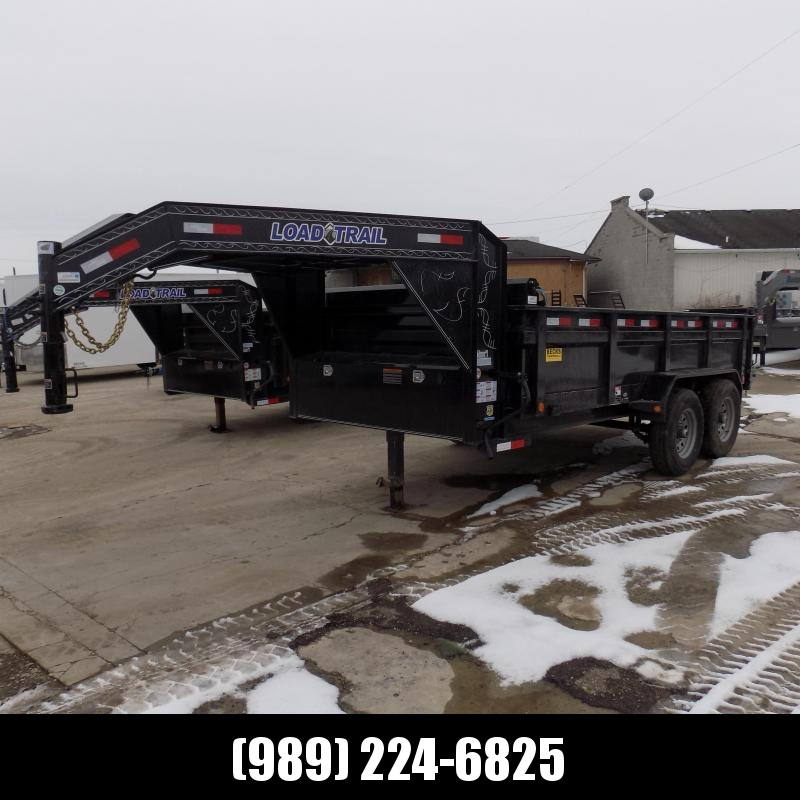 "New Load Trail 83"" X 14' Gooseneck Dump Trailer For Sale- $0 Down & Payments From $113/mo W.A.C."