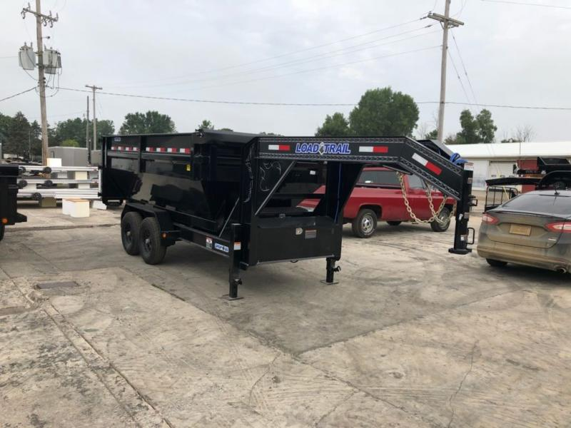 "New Load Trail GM14 83"" x 14' Roll Off Gooseneck Dump Trailer for Sale"
