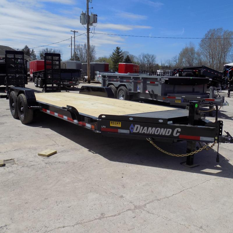 "New Diamond C 82"" x 20' Equipment Trailer For Sale"