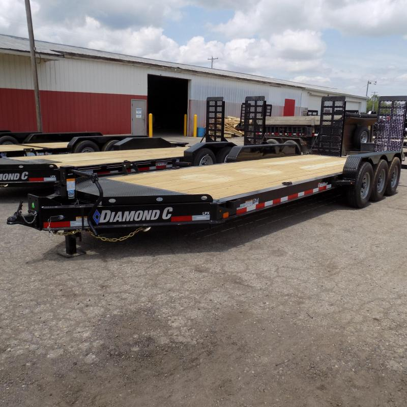 "New Diamond C Trailers 82"" x 22' Equipment Trailer - 24K Weight Rating"