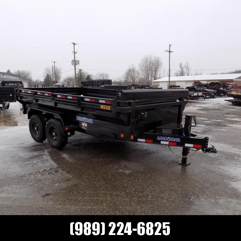 """New Load Trail 83"""" x 14' Dump Trailer - Flared Sides - Payments from $119/mo. with $0 Down W.A.C."""