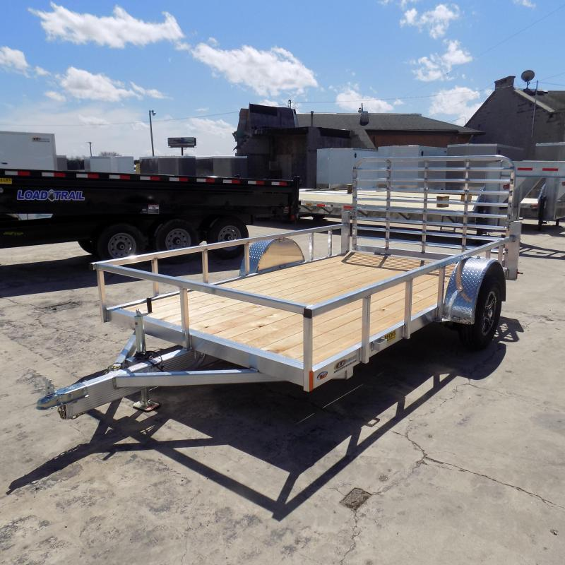 New Legend Open Deluxe 7' X 12' Aluminum Utility Trailer