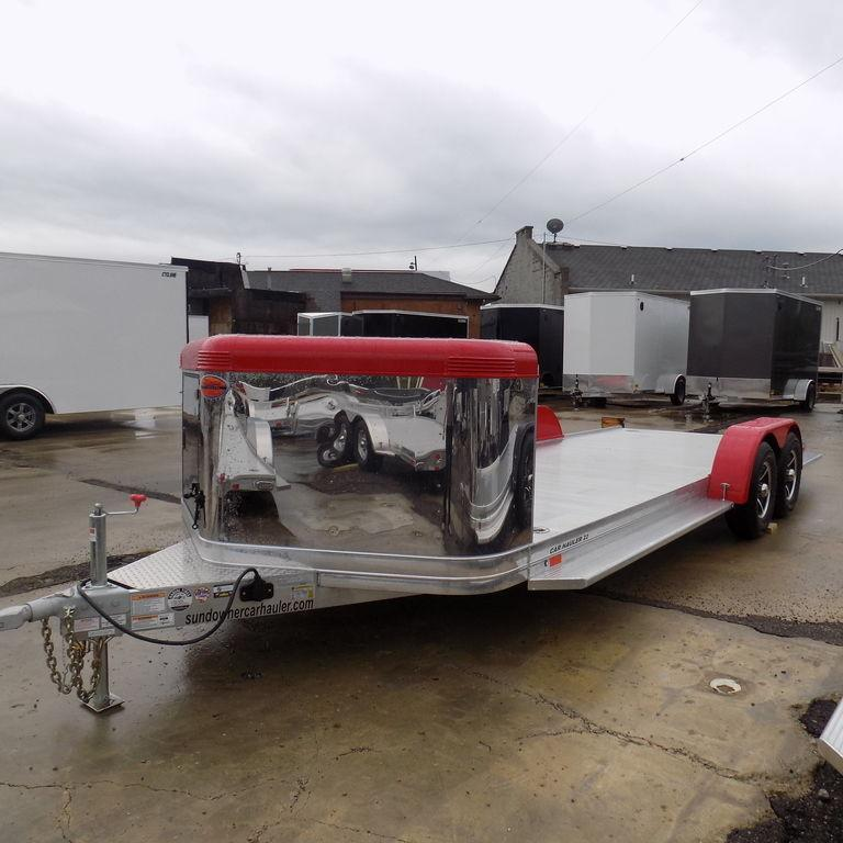 New Sundowner ULTRA 22' AluminumOpen Car Hauler