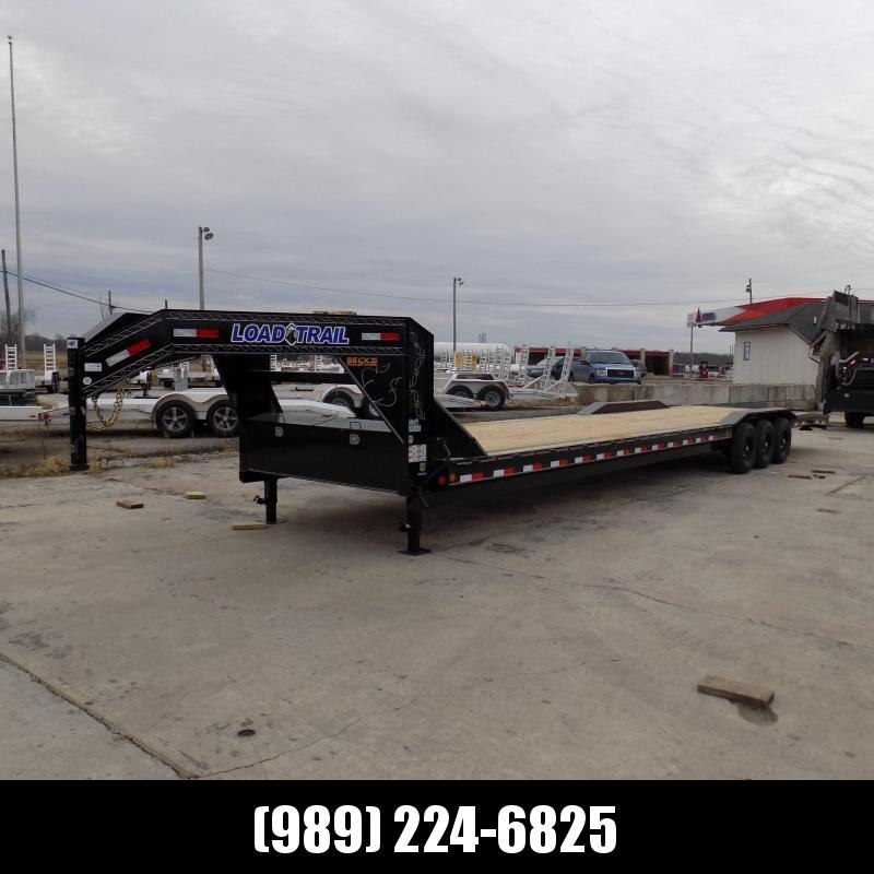 "New Load Trail 102"" x 40' Triple Axle Gooseneck Car Hauler / Equipment Trailer - $0 Down & Payments From $139/mo. W.A.C."