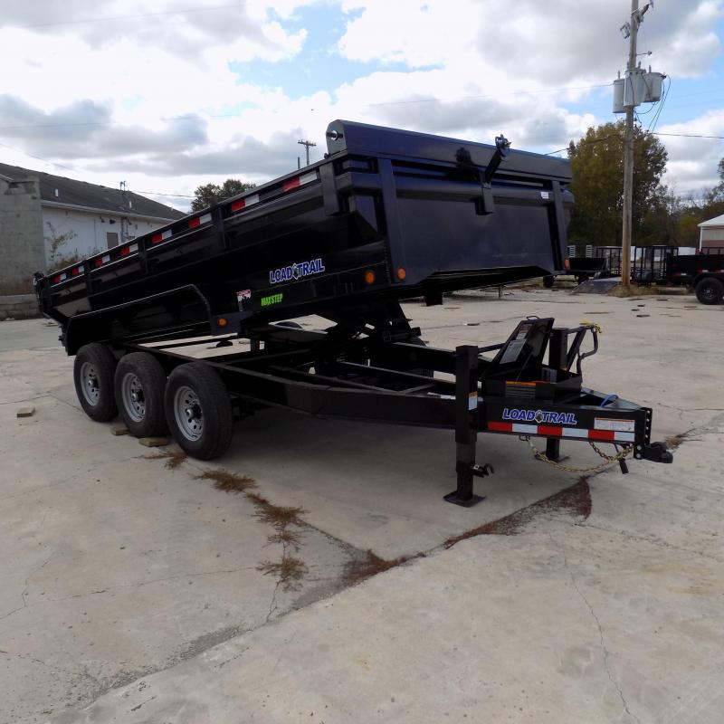 "New Load Trail 83"" x 16' Triple Axle Dump Trailer w/ Flared Sides - $0 Down & Payments From $149/mo. W.A.C."