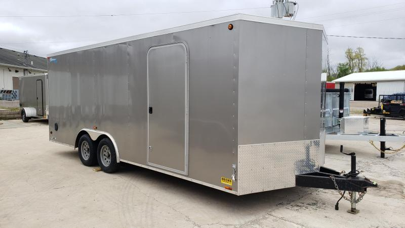 Used Cyclone 7' x 21' Enclosed Cargo Trailer For Sale