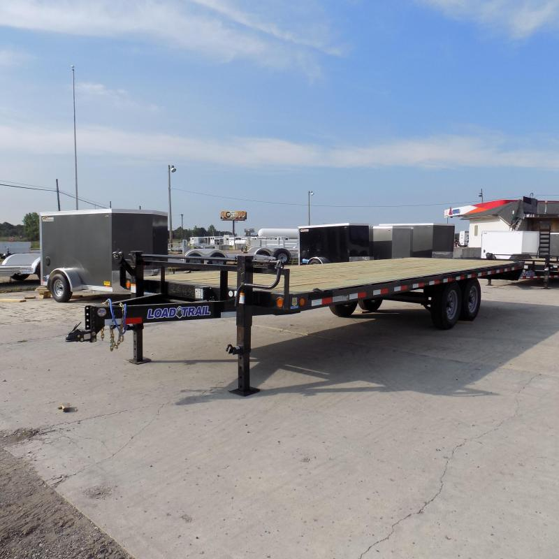 """New Load Trail DK14 102"""" x 24' Deckover Trailer for Sale"""