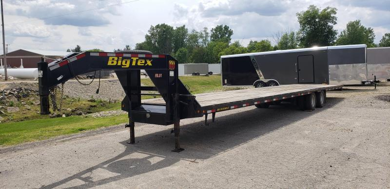 "Used Big Tex 102"" x 40' Gooseneck Trailer - 23900# Weight Rating"
