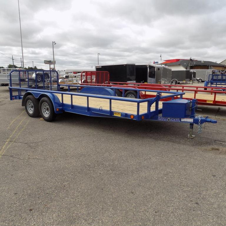"New Load Trail UT 83"" x 18' Open Utility Trailer for Sale - Payments $122/mo."