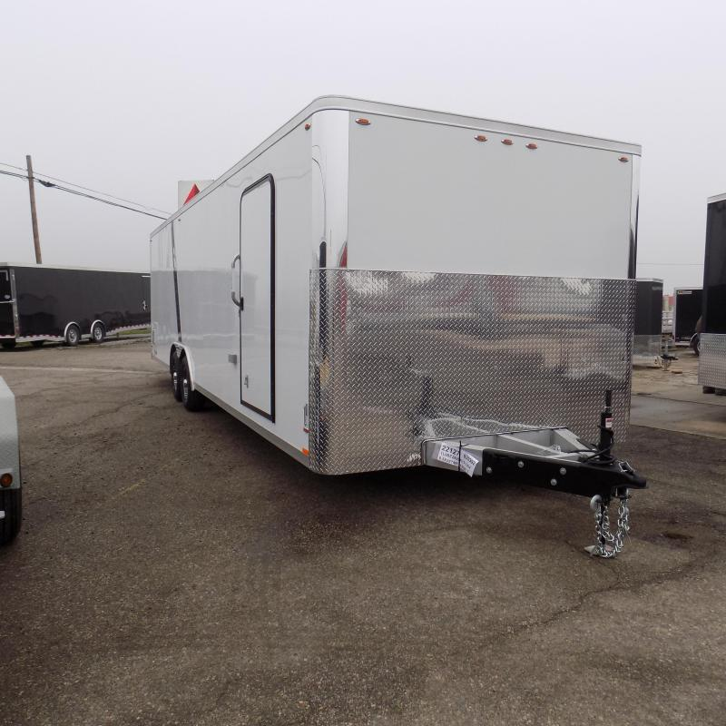 New Legend Trailmaster Flat Front 8.5' x 28' Aluminum Enclosed Car Trailer