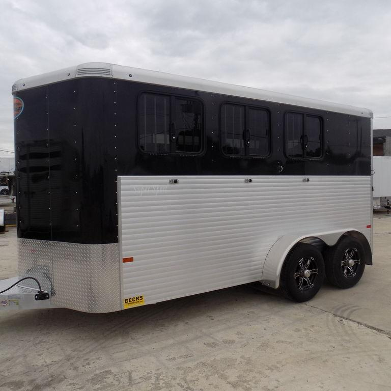 New Sundowner Trailers Super Sport Bumper Pull 3 Horse