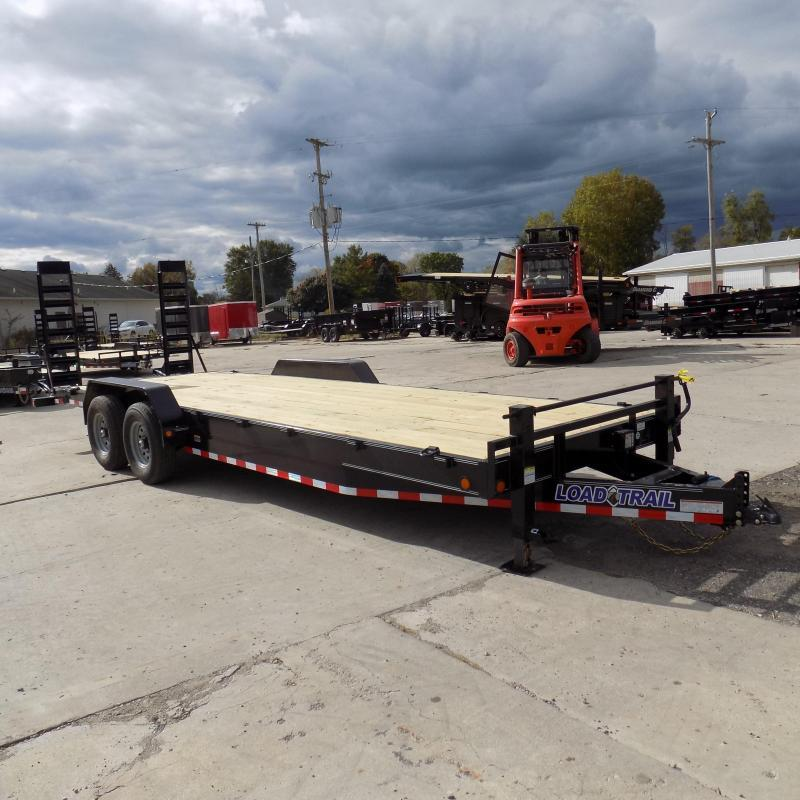 """New Load Trailer 83"""" x 24' Car/Equipment Trailer For Sale - $0 Down & Payments from $129/mo. W.A.C."""