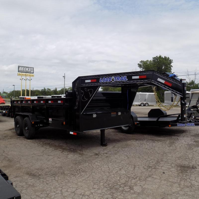 "New Load Trail 83"" X 16' Gooseneck Dump Trailer For Sale"