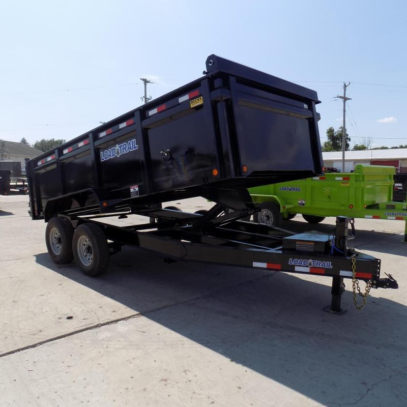"New Load Trail 83"" x 16' Dump Trailer For Sale - 36"" Sides"