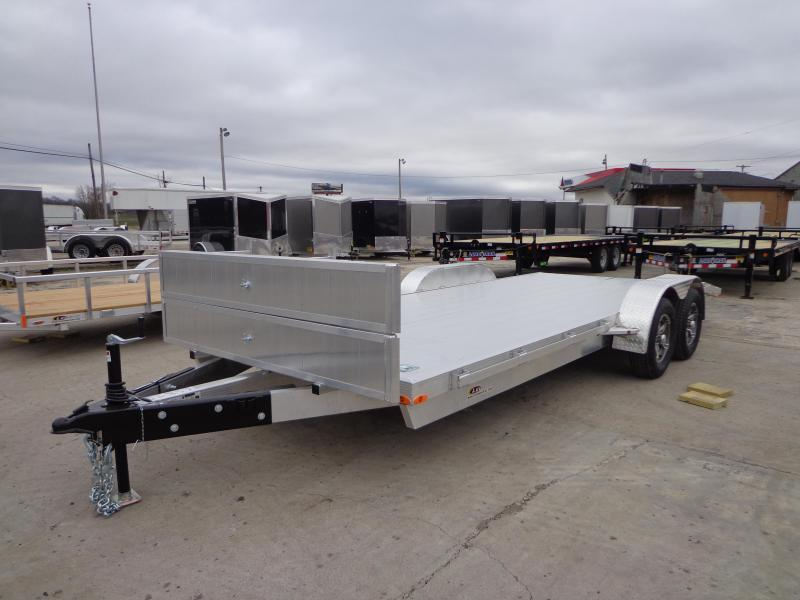 New Legend 7' x 20' Aluminum Open Car Hauler With Aluminum Deck