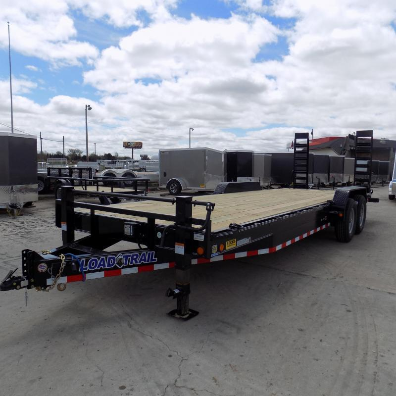 "New Load Trailer CH14 83"" x 24' Open Car / Equipment Trailer - 14K Weight Rating"