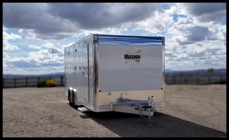 2020 Mission 8.5 x 22 Car / Racing Trailer