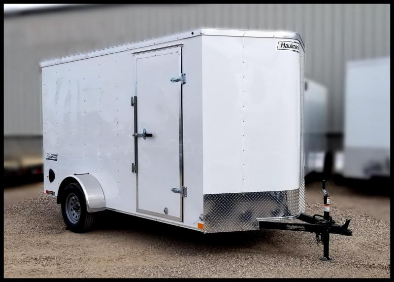 2020 Haulmark 6 x 12 Enclosed Cargo Trailer