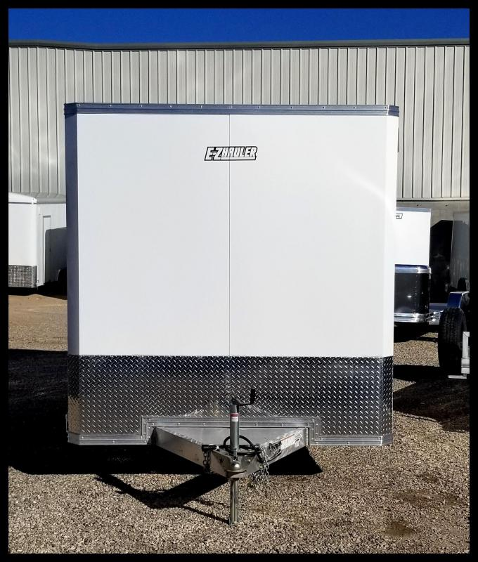2019 Mission 7.5 x 14 EZ Hauler Aluminum  Enclosed Cargo Trailer