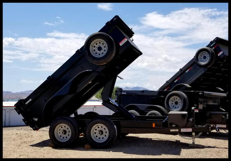 "Innovative 60"" x 10' Dump Trailer 9990 GVWR"