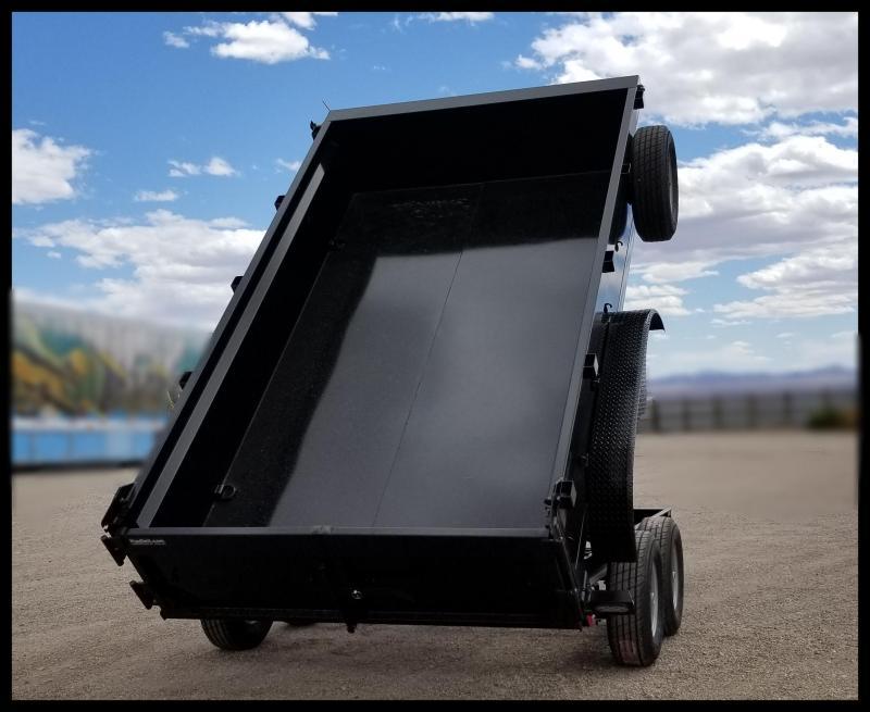 2020 Innovative 83 x 14 14000 GVWR Dump Trailer