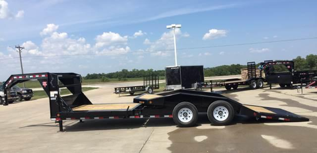 2019 PJ Trailers TS242 Equipment Gravity Tilt Trailer