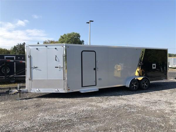 2020 Legend Explorer 4 Place 7 X 29 Inline Snowmobile Trailer