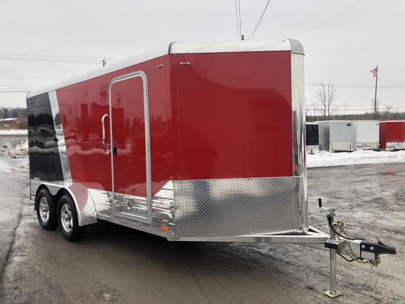 2020 Legend DVN Deluxe 7 X 17 Enclosed Cargo Trailer DEMO