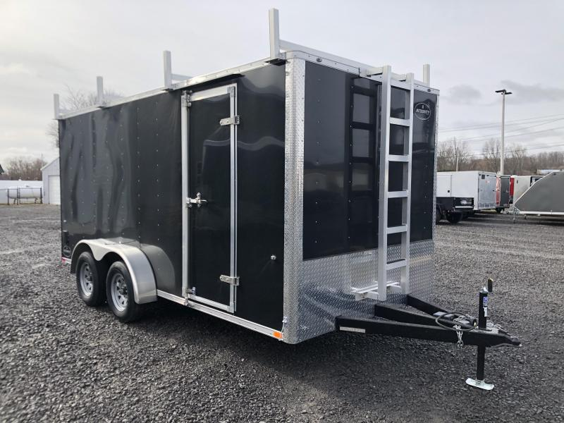 2020 Integrity Honor Line 7 x 16 Contractor Trailer w/ Walk-On Roof