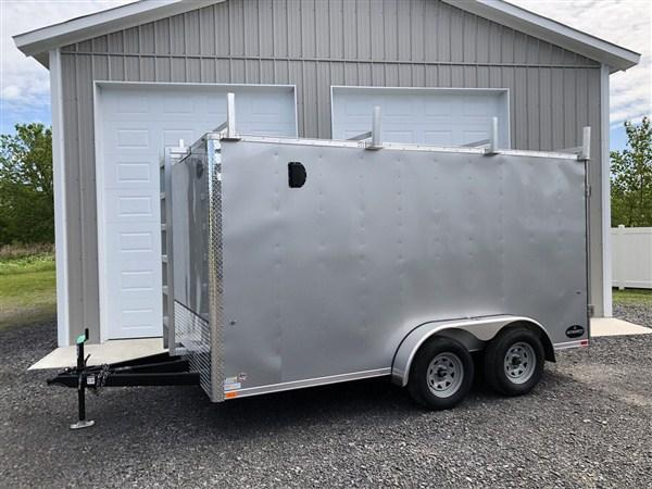 2019 Integrity Honor Line 7 x 14 Contractor Trailer w/ Walk-On Roof