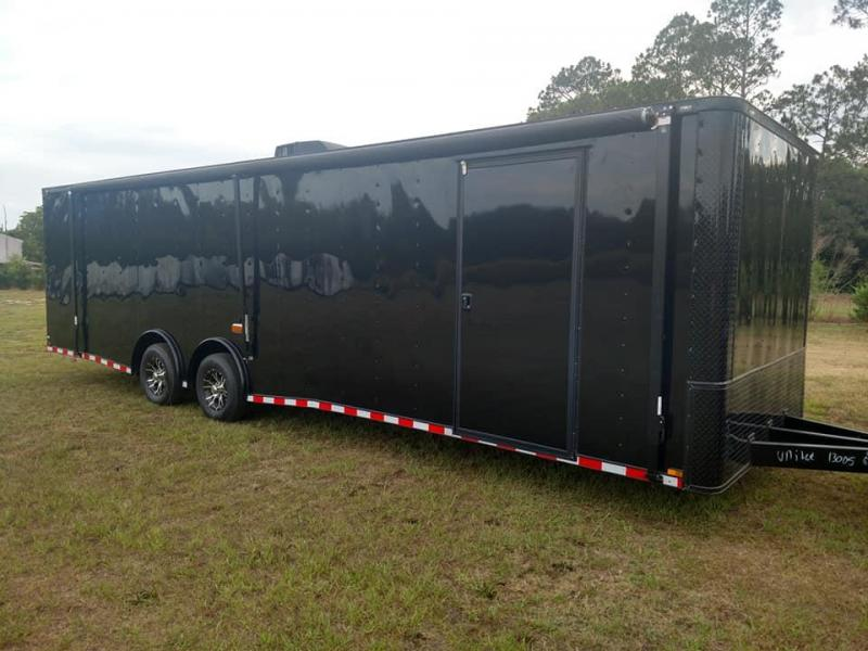 2019 Quality Cargo 8.5 x 28 TA3 Loaded Race Trailer Enclosed Cargo Trailer