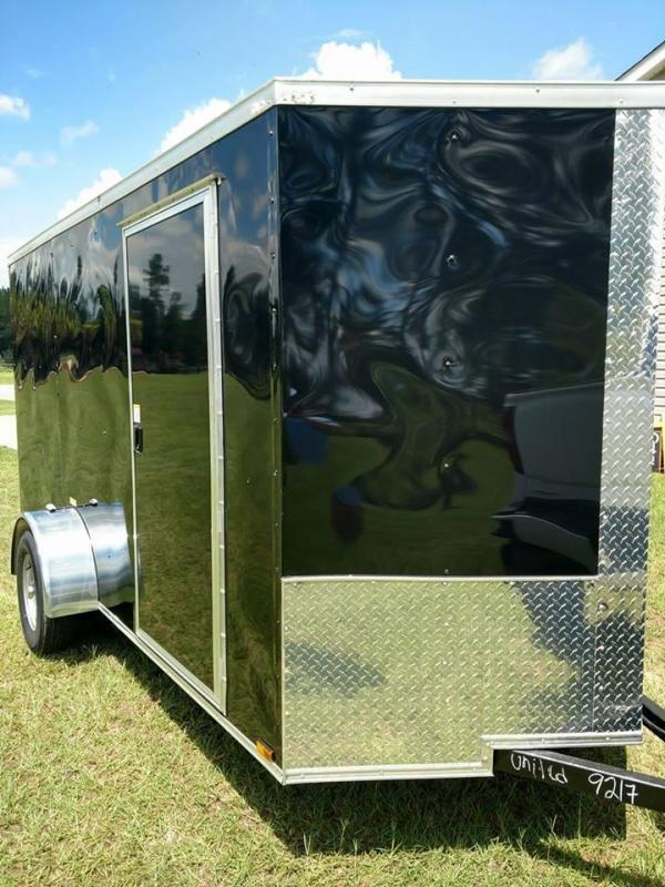 2019 Quality Cargo 6x12 sa Enclosed Cargo Trailer