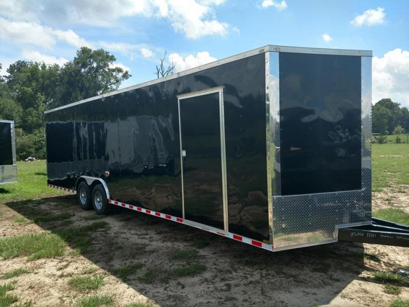 2019 Quality Cargo 8.5 x 28 TA3 7ft tall Enclosed Cargo Trailer