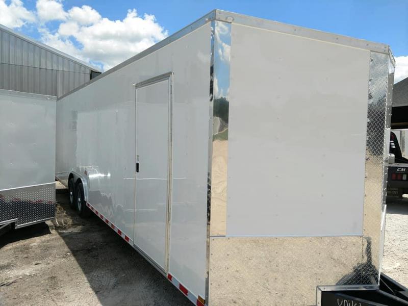 2019 Quality Cargo 8.5 x 28ft v nose car hauler 7ft tall Enclosed Cargo Trailer