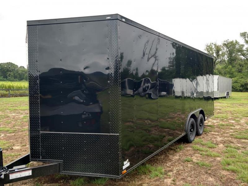 2019 Quality Cargo 8.5 x 20TA Car Hauler 7ft tall Enclosed Cargo Trailer