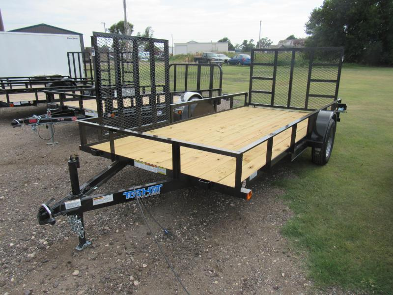"2019 Top Hat Trailers Utility 77"" X 14' Utility Trailer"