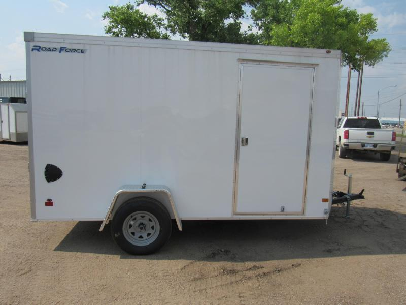"2019 Wells Cargo Road Force 6 X 12 V-Nose Enclosed Cargo Trailer w/ 6'6"" Ceiling"