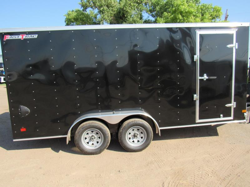 2019 Wells Cargo Fast Trac Enclosed Cargo Trailer 7 X 16 V-Nose