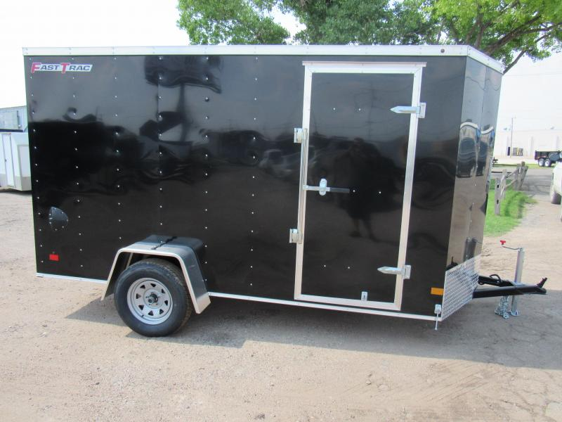 "2019 Wells Cargo FastTrac 6 X 12 V-Nose Enclosed Cargo Trailer w/ 6'6"" Ceiling"