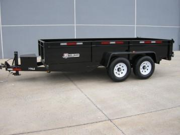2018 Bri-Mar DT714LP-LE Dump Trailer